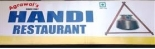Handi Vegetarian Restaurant.