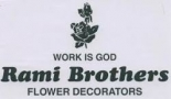 Rami Brothers Flower Decorators.