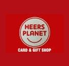 Heer's Planet Card & Gift Shop.